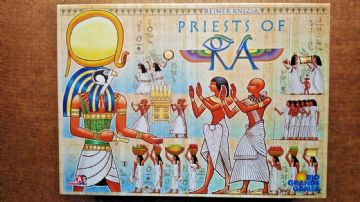 Priests of Ra - By Rio Grande Games (2009 New - Never Played)